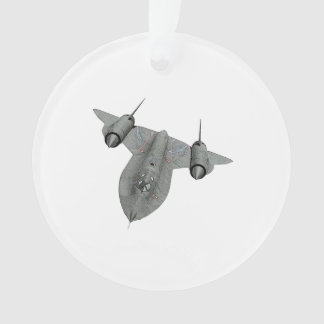 SR71 Blackbird Ornament