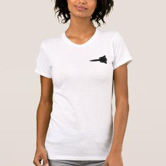 SR71 Blackbird Silhouette T-shirts