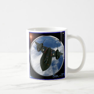 Sr-71 military spy plane coffee mug