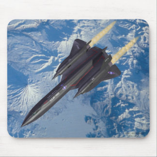 SR-71 over Kamchatka Mouse Pad