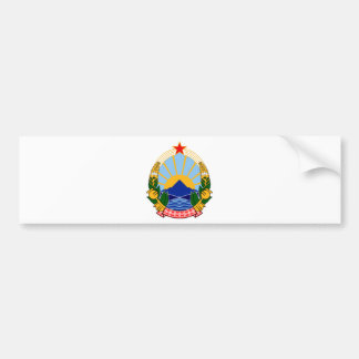 SR Makedonija grb Bumper Sticker