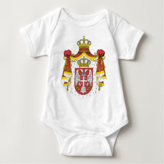 Srbija Grb -  Veliki / Serbian Coat of Arms - Big Baby Bodysuit