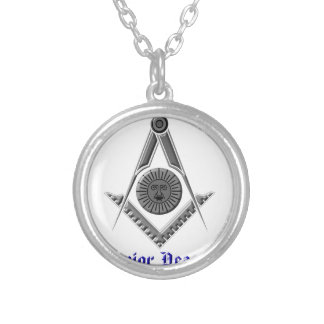 srdeacon silver plated necklace