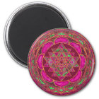 Sri Lakshmi Yantra Mandala Magnet