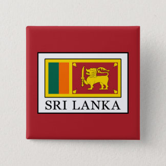 Sri Lanka 2 Inch Square Button