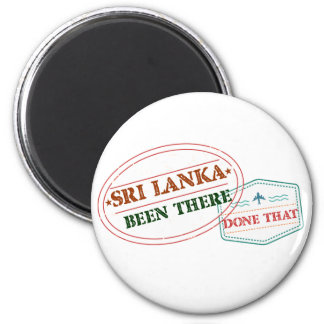 Sri Lanka Been There Done That Magnet