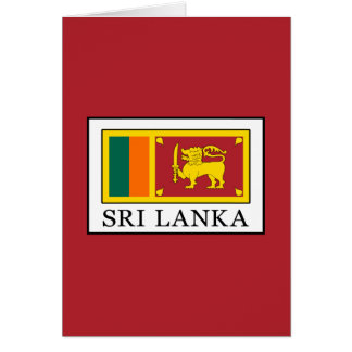 Sri Lanka Card