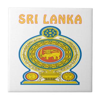 SRI LANKA Coat Of Arms Tile