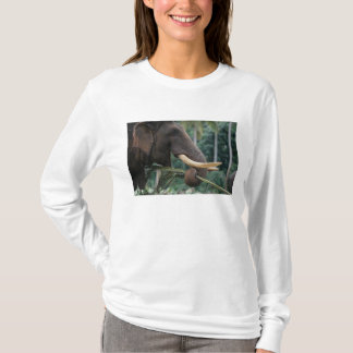 Sri Lanka, Elephant feeds at Pinnewala Elephant 2 T-Shirt