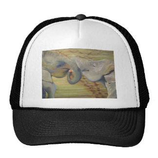 Sri Lanka Elephant Kiss Trucker Hat