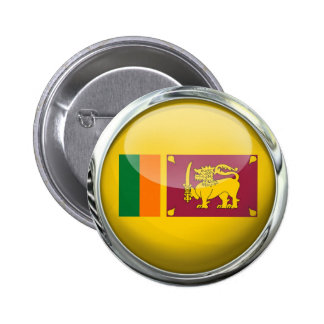 Sri Lanka Flag 2 Inch Round Button