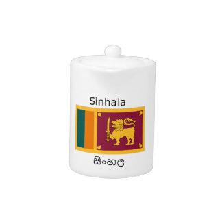 Sri Lanka Flag And Sinhala Language Design