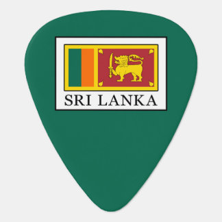 Sri Lanka Guitar Pick