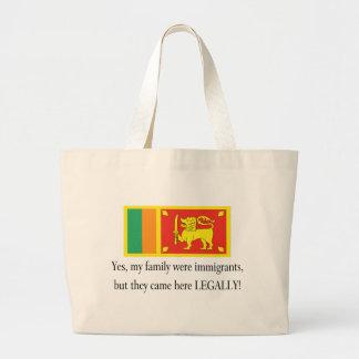 Sri Lanka Jumbo Tote Bag