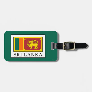 Sri Lanka Luggage Tag