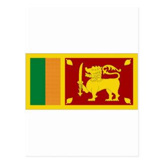 Sri Lanka National Flag Postcard