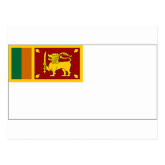 Sri Lanka Naval Ensign Postcard