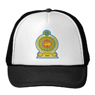 Sri Lanka Official Coat Of Arms Heraldry Symbol Trucker Hat