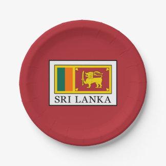 Sri Lanka Paper Plate
