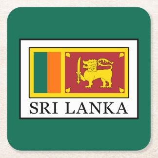 Sri Lanka Square Paper Coaster