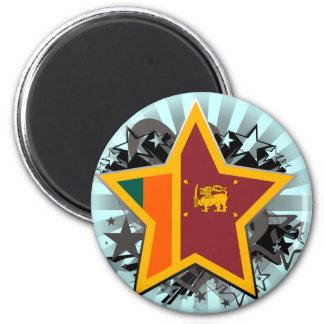 Sri Lanka Star Magnet