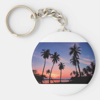 Sri Lanka Sunset Keychain