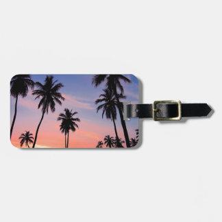 Sri Lanka Sunset Luggage Tag