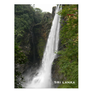 Sri lanka Vintage Travel Tourism Add Postcard