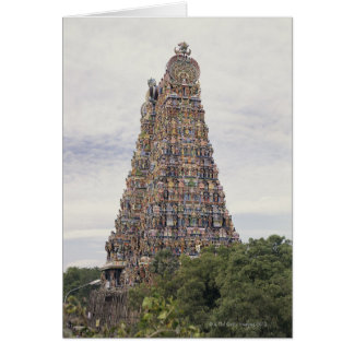 Sri Meenakshi Amman Temple, Madurai, Tamil Nadu, Card