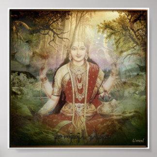 Sri Parvati • Durga Poster
