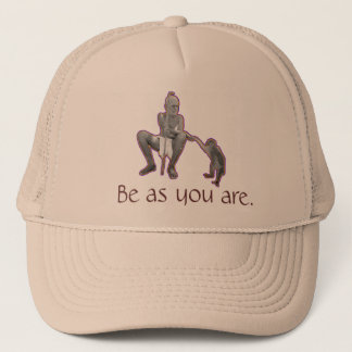 Sri Ramana Maharshi, Be as you are. Trucker Hat