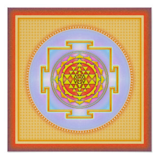 Sri Yantra - Artwork III Poster
