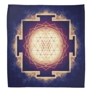 Sri Yantra - Artwork IX Head Kerchief