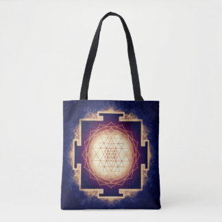 Sri Yantra - Artwork IX Tote Bag