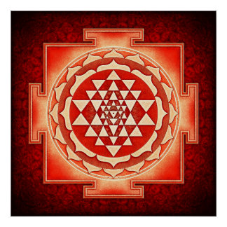Sri Yantra - Artwork V Poster