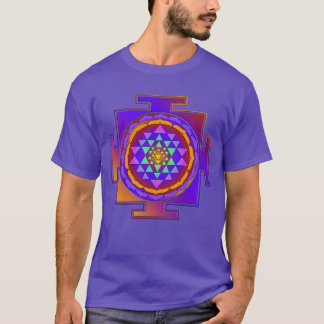 SRI YANTRA full colored + your ideas T-Shirt