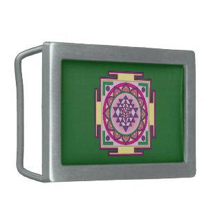 Sri Yantra Mandala Belt Buckles