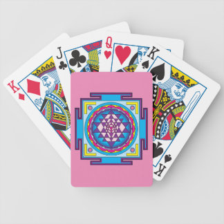 Sri Yantra Mandala Bicycle Playing Cards