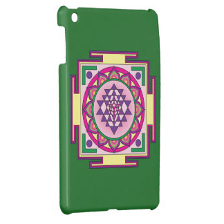 Sri Yantra Mandala Cover For The iPad Mini