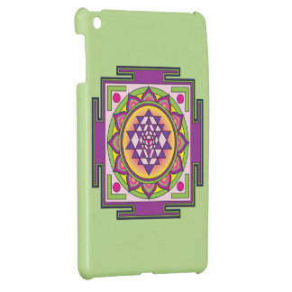Sri Yantra Mandala iPad Mini Cover