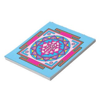 Sri Yantra Mandala Notepad