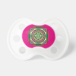 Sri Yantra Mandala Pacifier
