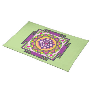 Sri Yantra Mandala Placemat