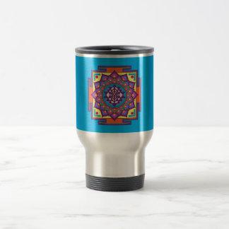 Sri Yantra Mandala Travel Mug