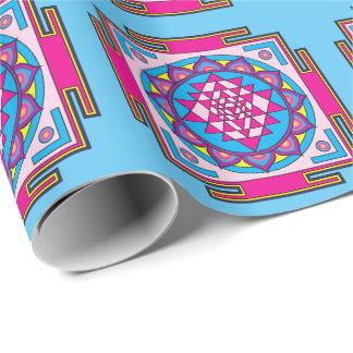 Sri Yantra Mandala Wrapping Paper