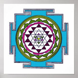 Sri Yantra Print