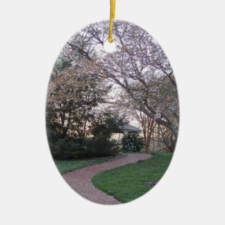 Sring Gazebo Ceramic Ornament