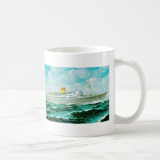 ss Bergensfjord at Sea Classic White Coffee Mug