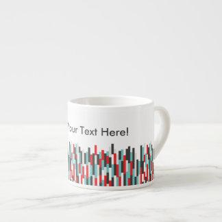 SS Colorful Stripes Design Espresso Mug
