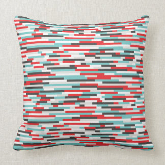 SS Colorful Throw Pillow